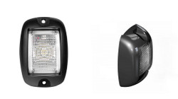 SoundOff Signal Mighty Night Spot LED Surface Mount with 20 Degree Flood Standard Lens EAUSSMB0SWC