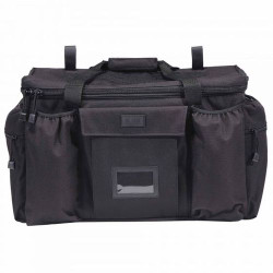5.11 Tactical PATROL READY™ Bag, All-weather 600D Polyester, Durable nylon carrying handles with secure closure, Removable shoulder strap with heavy duty clips, Black, 59012