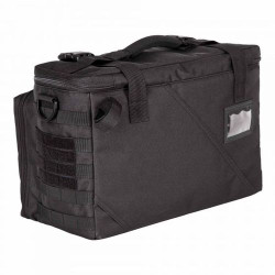5.11 Tactical 56045 WINGMAN PATROL BAG™, Durable 600D Polyester, Fold out front organizer panel, Adjustable main compartment divider, Black