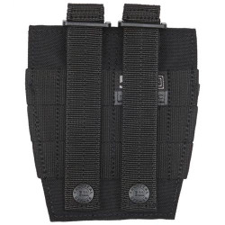 5.11 Tactical CUFF CASE, N1050D body / N500D cover, High performance hook and loop closure for quick access, Prym® snap hardware, Black, 58721019