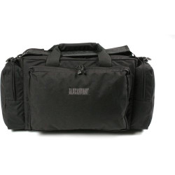 BLACKHAWK ENHANCED PRO SHOOTER'S Duffel Range, Ammo and Handgun Bag, Constructed of 1000 denier nylon, Detachable shoulder strap with non-slip pad, Black, 80SB06BK