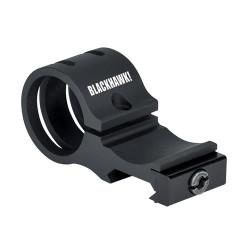 Blackhawk! Offset Flashlight Rail Mount, Compatible with Most 1-Inch Flashlights 71RM01BK