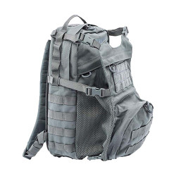 BLACKHAWK CYANE™ DYNAMIC PACK, Removable 3-D mesh padded back panel, Easy-grip zipper pulls, Removable padded shoulder straps, One slash pocket on main compartment and two on front compartment, Urban Gray, 60CD00UG