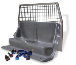 ProGard Chevy Tahoe Police Prisoner Transport Rear Plastic Seat and Cargo Barrier