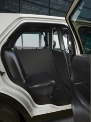 Setina Law Enforcement Single Prisoner Transport System for Cars SUVs and Trucks, ideal for extra storage space and full front seat recline