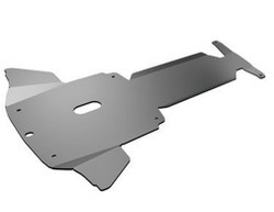 Taurus Police Interceptor Sedan Steel Skid Plate by Setina, 2013-2019