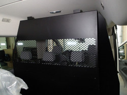 Havis Ford Transit window van Middle partition Cage P-MID-3 with medium roof and side sliding door
