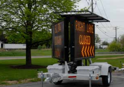 Solar Powered Double Sided Silent Messenger Message Board II by SolarTech