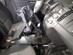 Flex Arm Package including Flex Arm and Mount For 2013-2019 Ford Police Interceptor Sedan and Retail Taurus by Havis, 2013-2019