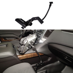 Havis Flexible Arm Package including Flex Arm and Mount (for Tablets or Keyboards) For Silverado / Sierra 1500, 2500 and 3500 Pickup (C & K series), Suburban, Yukon XL and Tahoe 2015-2020