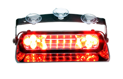 Whelen Avenger II Single LED Dash Deck Light, SOLO, AVC11