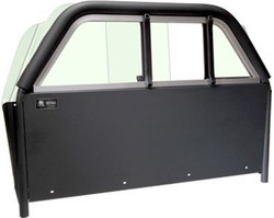 Setina Ford Transit Van Partition Flat Back Cage, mounts behind Passenger and Driver, fits T150-T350 Low and Mid Roof Transit Vans