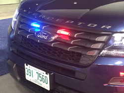 Whelen Micron LED Stud Mount Light Head MCRNT, fits perfect in the Ford Law Enforcement Interceptor Utility SUV (Explorer) Grille, 2013-2019