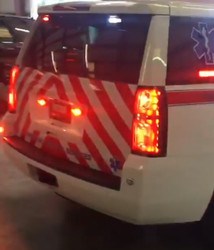 Chevy Tahoe Chevron Emergency Vehicle Graphics with 3M Reflective Stripes, choose colors