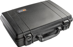 Pelican™ 1470 Laptop Protector Case - Watertight, Crushproof, and Dustproof, With Optional Foam Insert, Available in Black or Desert Tan, 19x18x14, 24 lbs (w-out foam, 22 lbs)