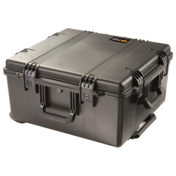 Pelican iM2875 Storm Travel Case With Telescoping Handle, Lockable Latches, Hard Case with Optional Foam Insert, Padded Divider or TrekPak Divider System, Available in OD Green or Black, 26 x 25 x 14, 30 lbs (22 lbs w-out inserts)