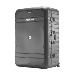 Pelican BA30  Elite Vacationer Luggage, includes Wheels, Recessed TSA Approved Combination Lock, Carry Handles and retractable handle, Available in Charcoal Gray, 28x20x13, 23 lbs