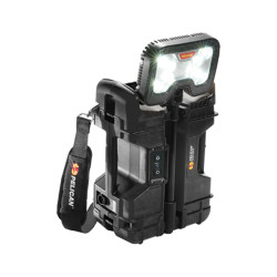 Pelican 9480 Remote Area Light, Scene Light With 3 Pre-Set Light Output Levels, Available in Black or Yellow