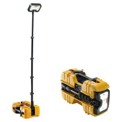 Pelican 9490 Remote Area Scene Light System, LED with Multiple Heads and Bluetooth Activation, Available in Black or Yellow