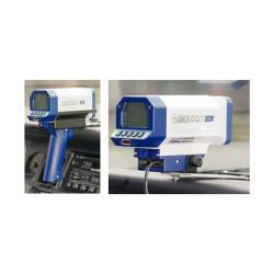 Kustom Signals Falcon HR Law Enforcement Radar Gun, Hand-held or Dash Mount, corded or cordless handle