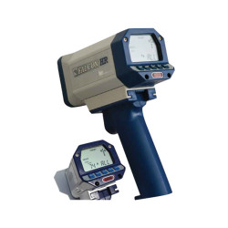 Kustom Signals Falcon HR Law Enforcement Radar Gun, Hand-held or Dash Mount, corded or cordless handle