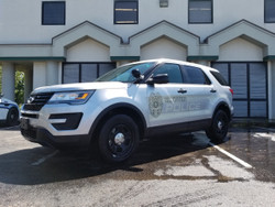 Ford Law Enforcement Interceptor Utility SUV (Explorer) Ghost Graphic Decals, any color
