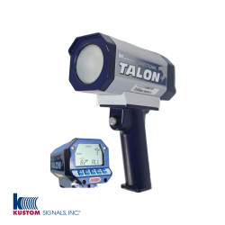 Kustom Signals Talon II Law Enforcement Radar Gun, Directional, Motorcycle Mount Option, hand-held or dash mount, corded or cordless handle