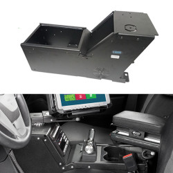 Gamber Johnson 7160-0412 Ford PI Utility, 2013-2019, console box only, includes faceplates and filler panels