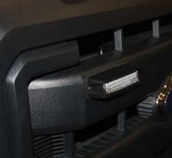 SoundOff Signal nFORCE 9 LED Surface Mount Light Head, single color per light head ENFSSS2