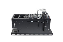 Gamber Johnson 7160-0770 25 inch Universal Console Box, optional Floor Plate, includes faceplates and filler panels