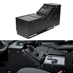 Gamber Johnson 7160-0548 Chevy Tahoe 2015+ Console Box, includes faceplates and filler panels