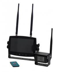 Code-3 Wireless Quad Camera System and Monitor CC7008-WK