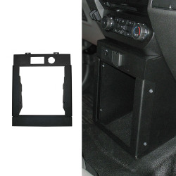 Gamber Johnson 7160-0875 Ford F-150 (2015+) and F-250 Super Duty (2017+) Vertical Console Box, includes faceplates and filler panels