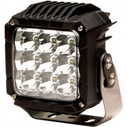 Code-3 9 LED Spot or Flood Square Lamp, Heavy Duty Worklight CW2310