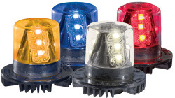 Code-3 9 LED Hide-A-Blast Hideaway Corner LED Light Heads, 1.5 inch HB915X