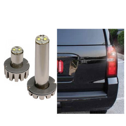 Code-3 2-Pack Bullet LED Hide-A-Blast Hideaway Corner Light Heads, 1.3 inch