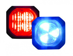 Code-3 Hide-A-Blast 6-LED Hide Away Corner Light Heads, Pair
