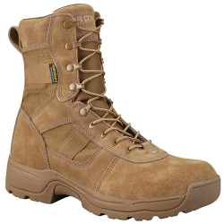 Propper F4519 Series 100® 8 inch Men's or Women's Waterproof Tactical Boots, Regular or Wide Width, Uniform or Casual, Oil and Slip Resistant, Triple Stitch, Coyote/Tan Brown