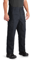 Propper F5294 Men's Kinetic Tactical Pants, polyester/cotton ripstop with DWR, Uniform/Cargo, Classic/Straight, Badge Tab, available in Black, Khaki, Olive Green, Charcoal Grey, Coyote Brown, or LAPD Navy F5294