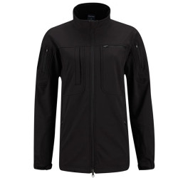 Propper F5498 Women's BA® Softshell Tactical Jacket, Polyester/Spandex, 2 Chest Pockets, Two-way zippered front, ID or Badge Panel on left chest, Black