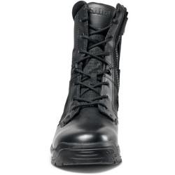 5.11 Tactical 12391 ATAC® 2.0 8 inch Men's Side Zipper Boots with Hidden Knife Pocket, Oil and Slip Resistant, Regular or Wide Width, Casual, Black