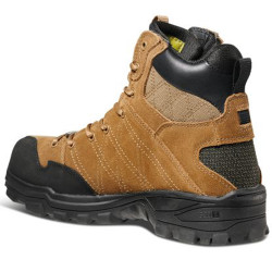 5.11 Tactical 12379 Cable Hiker Carbon TAC Toe Men's Boot, Regular or Wide Width, Oil and Slip Resistant, Casual, Dark Coyote/Tan Brown