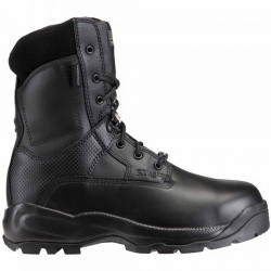 5.11 Tactical 12026 A.T.A.C.® Shield Side Zip Men's 8 Inch Uniform Boot, Oil and Slip Resistant, Regular or Wide Boot Width, Waterproof, Black
