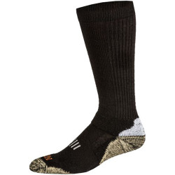 5.11 Tactical Merino Crew Men's Sock, Ankle and arch support, Black 10023