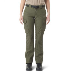 5.11 Tactical 64015US CDCR Women's Uniform Cargo Pants, Slim/Athletic Fit, Polyester/Cotton, Green