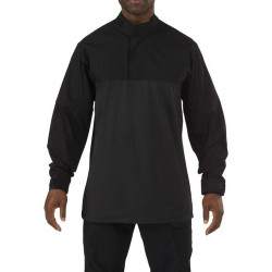 5.11 Tactical MEN'S 5.11 STRYKE® TDU® RAPID LONG SLEEVE SHIRT, 1/4 Zip, 87% polyester / 13% Spandex, Badge tab and epaulette kit, Tall Fit, Sleeve Pocket, 72071T