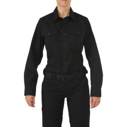 5.11 Tactical 62008 WOMEN'S 5.11 STRYKE®, PDU® Class-A Long Uniform Long Sleeve Shirt, Mic Loop, Badge Tab, available in Black or Navy