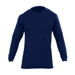 5.11 Tactical 40046 MEN'S CREW NECK LONG SLEEVE Multi Pack T-Shirt, 100% Ring Spun Cotton, Available in Navy,