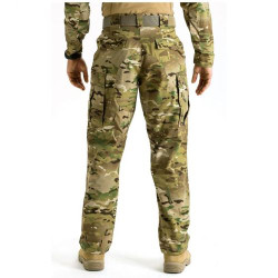 5.11 Tactical 74350 MEN'S MULTICAM® TDU® UNIFORM PANTS, Polyester/Cotton, Adjustable Waist, Classic/Straight, cargo pockets, secure rear pockets, Knee Pad Pockets and Ammo Pockets