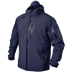 BLACKHAWK JK01 TACTICAL SOFTSHELL JACKET, 4 Way Stretch Fabric, Waterproof, Adjustable Storm Cuffs and Hood, available in Black, Navy, and Slate